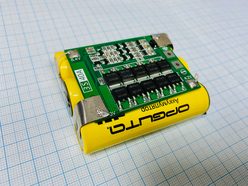 Аккумулятор литиевый Li-ion для шуруповерта 12 В (2 Ач 40А)