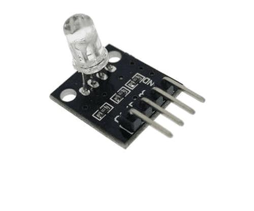 Модуль с RGB LED светодиодом 5 mm 3-5V