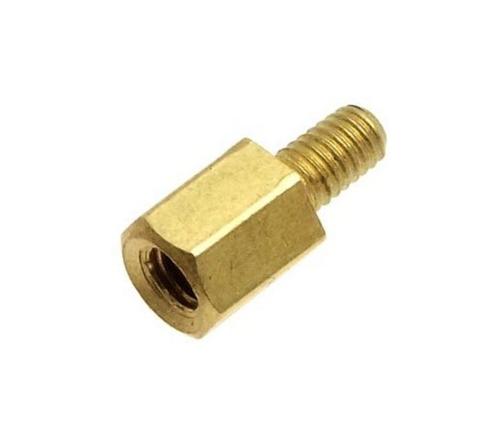 Стойка для печатных плат PCHSN-10 10 мм М3 латунь