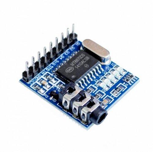 MT8870, DTMF декодер звукового сигнала