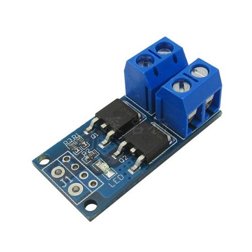 Модуль MOSFET ключа AOD4184 x2 PWM DC 5-36V 15-30A 400W 0-20kHz