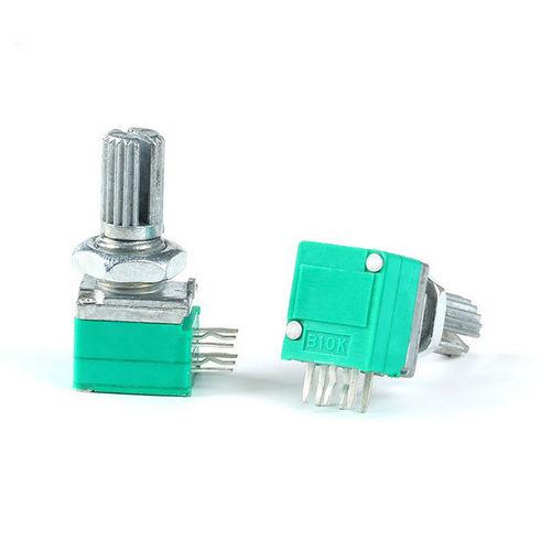 Резистор переменный B10K RV097NS 6pin 6mm