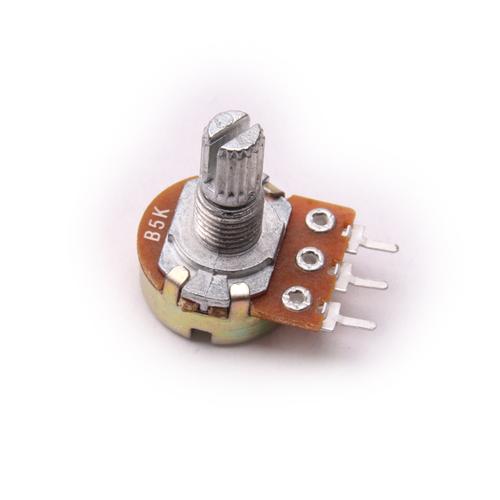 Резистор переменный WH148 B5K (5 кОм) 0,5 Вт