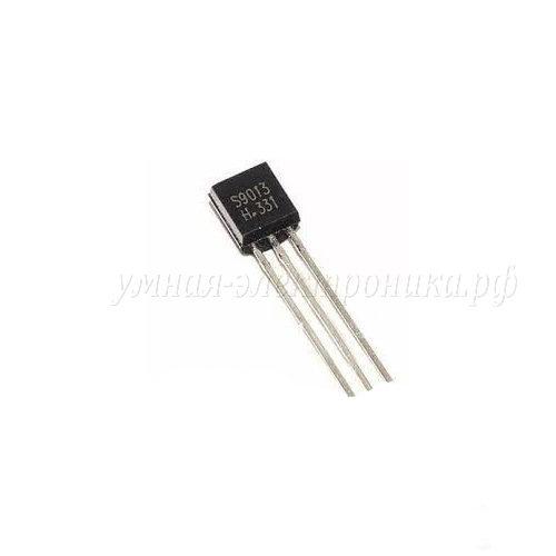 Транзистор S9013 NPN 40V 0.5А TO-92