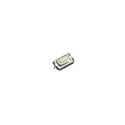 Кнопка тактовая SMD 3  6  2.5 mm белая