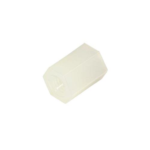 Стойка для печатных плат мама-мама 10 мм М3 пластик.