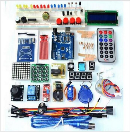 Набор Arduino Uno R3 Starter Kit (41 деталь)